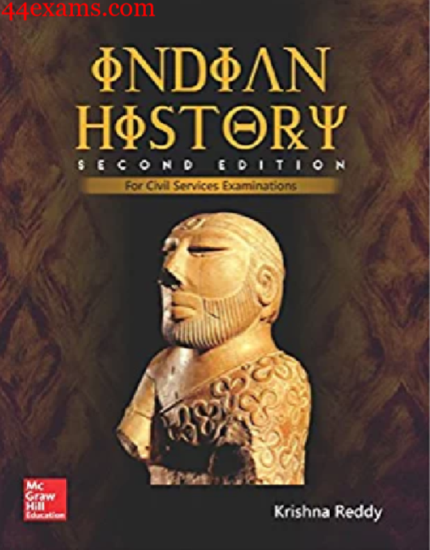 Indian-History-by-Krishna-Reddy-For-UPSC-Exam-PDF-Book