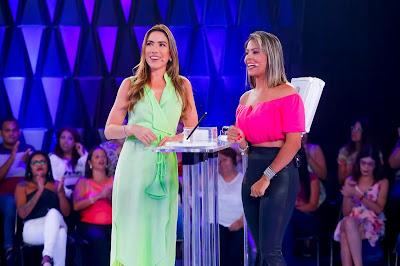 Patricia e Daiane (Foto: Gabriel Cardoso/SBT)