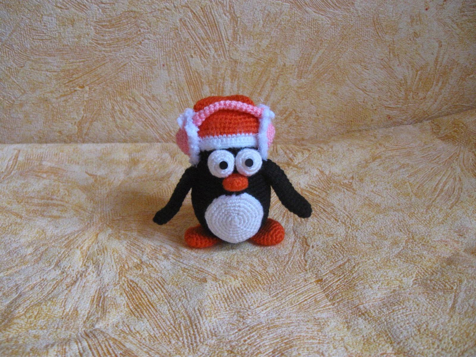 Пингвин крючком. Описание