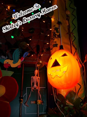 woody family cafe halloween decor