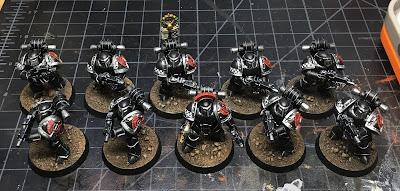 Horus Heresy Dark Angels Tactical Marines