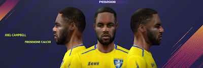 PES 6 Faces Joel Campbell by Gabo CR Facemaker