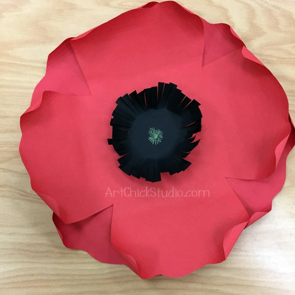 Paper Poppy Art Chick Studio