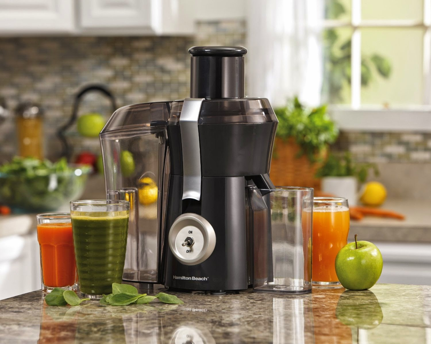 Hamilton Beach 67650A Big Mouth Pro Juice Extractor, picture, image, review features and specifications