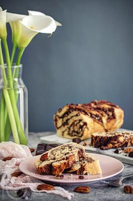 Čokoladna babka sa pekan orasima