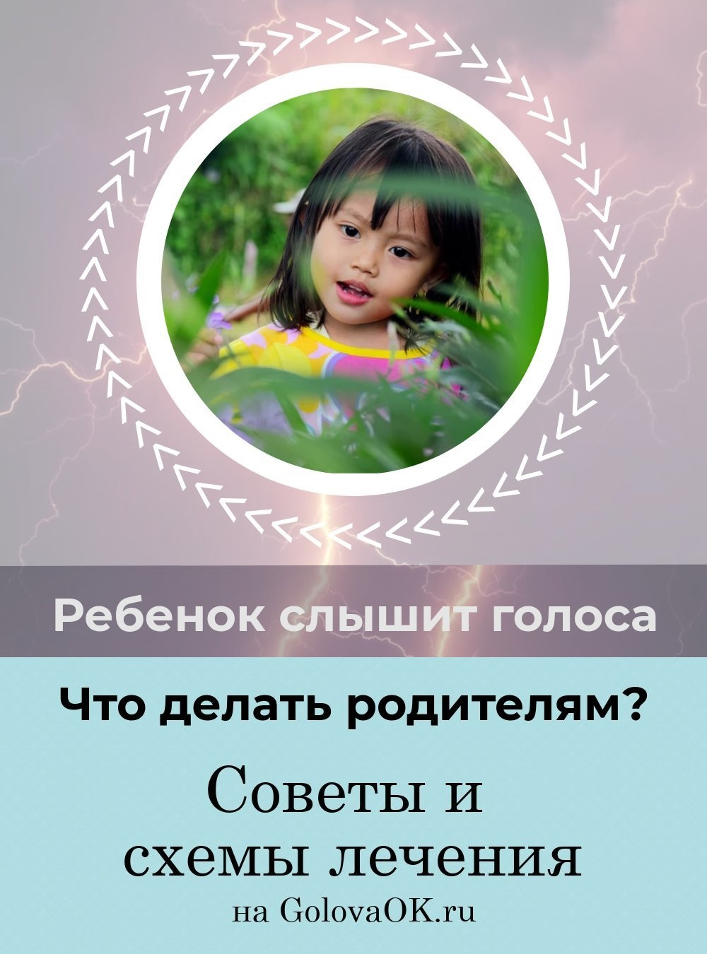 ребенок слышит голоса в голове