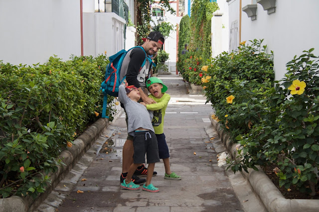 V Puerto Mogán na výletě s dětmi