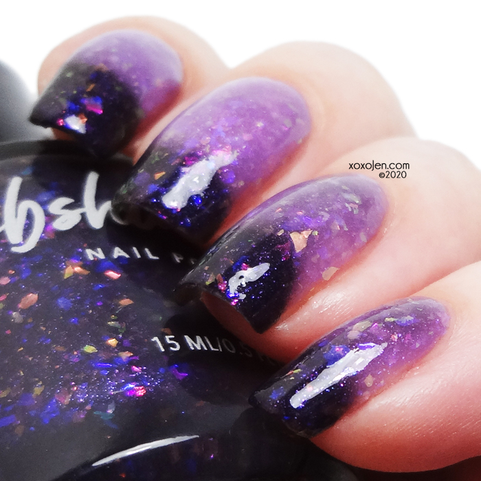 xoxoJen's swatch of KBShimmer In The Mood