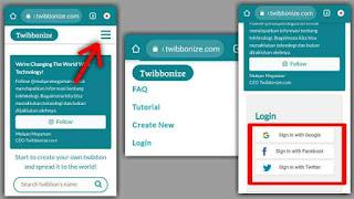 Cara Memasang Twibbon di hp menggunakan twibbonize