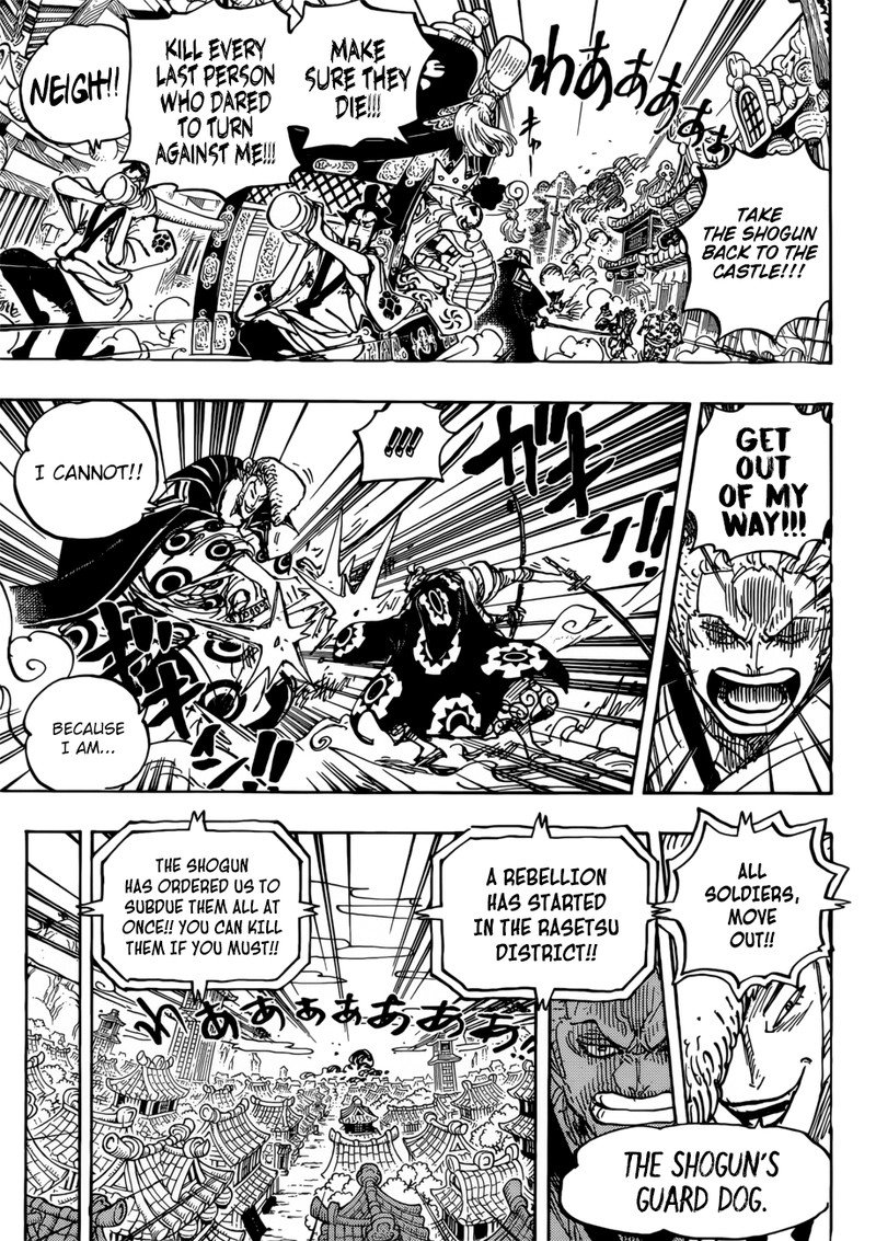 One Piece Manga Chapter 944 - Image 009