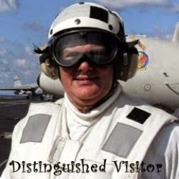 Distinguished Visitor of the USS Dwight D Eisenhower