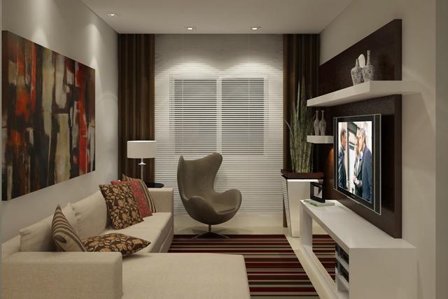 Construindo minha casa clean consultoria de decora o for Sala de estar sims 4