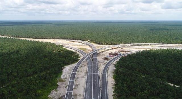 Mulus, Tol Pekanbaru-Dumai Sepanjang 131 Km Siap Beroperasi
