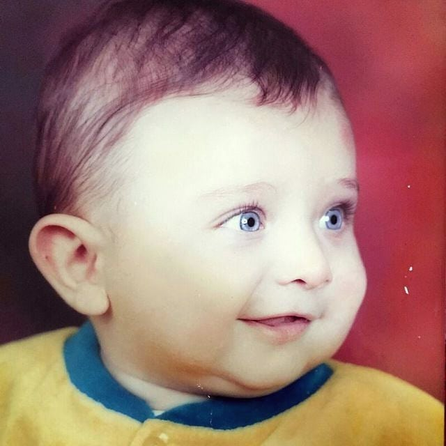 Alireza Kohany's Childhood Photo
