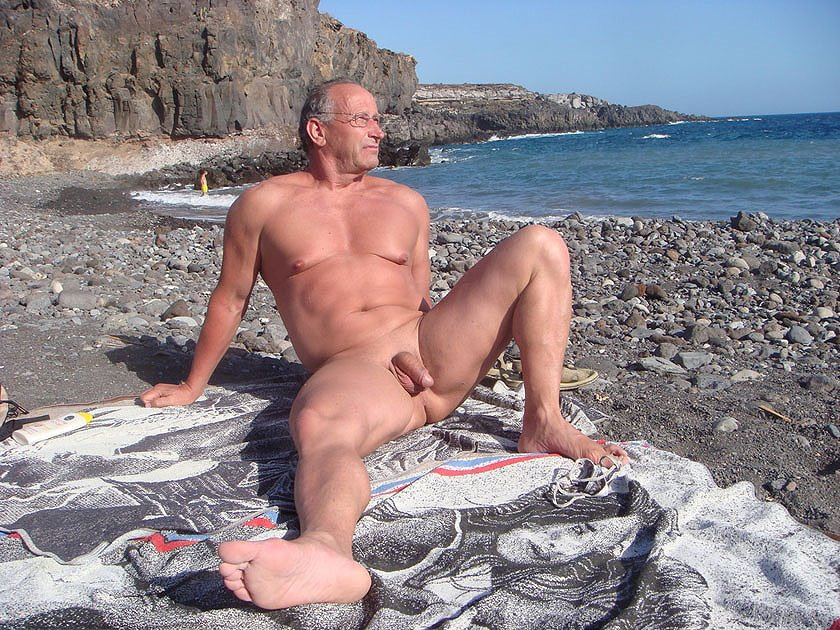 Hot Naked Men On Beach