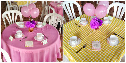 Saturday Tea Party for Cynch