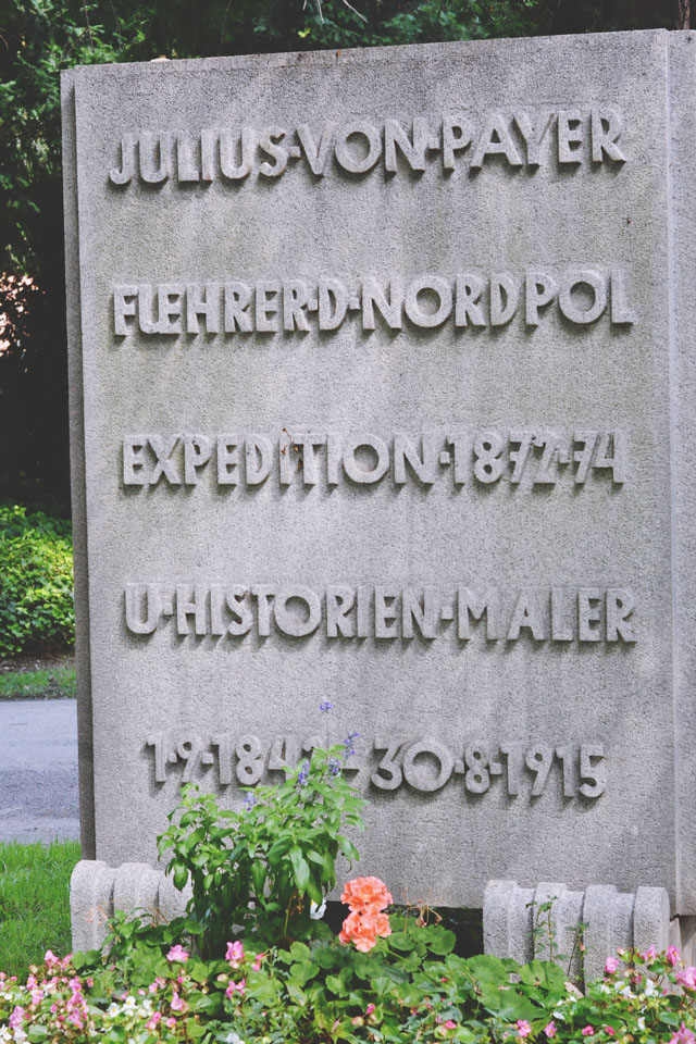 Julius von Payer grave