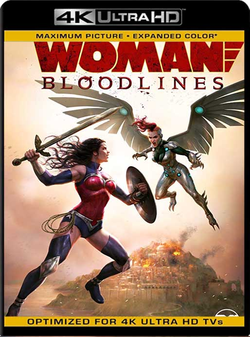 Wonder Woman: Bloodlines (2019) 4K 2160p UHD [HDR] Latino [GoogleDrive]