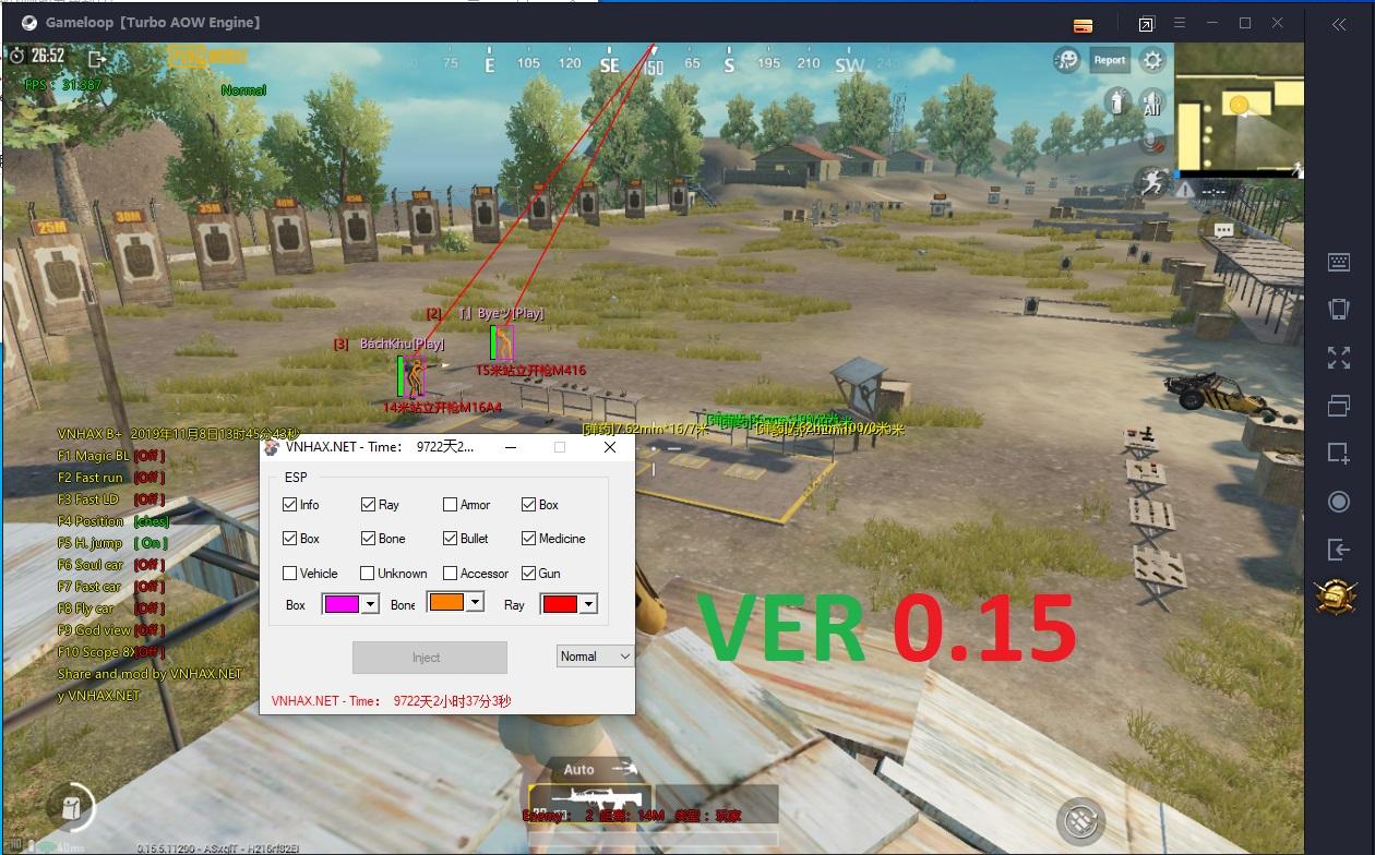 B+ [Gameloop] Magic bullet + Fast run + Fly car ...Pubg Mobile
