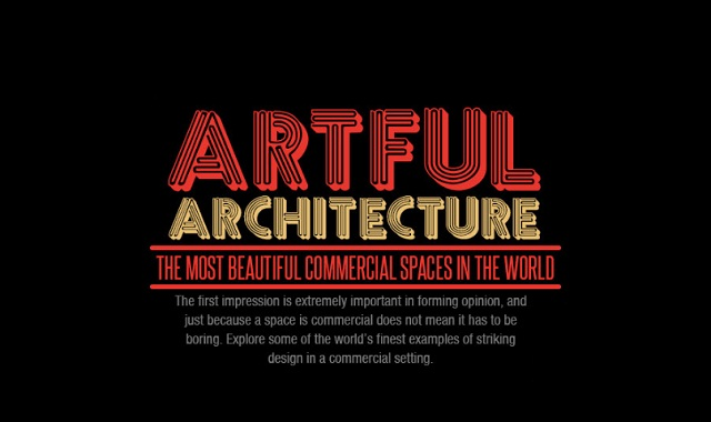 Artful Architecture – The most beautiful commercial spaces in the world