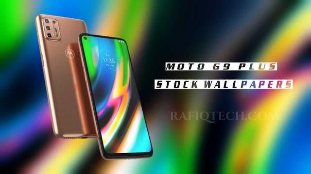 تنزيل خلفيات Moto G9 Plus الأصلية بجودة عالية الدقة [FHD+]