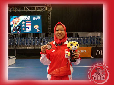 Euis Nuraeni Hoki Putri Indonesia asal Subang