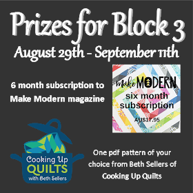 Prizes for completing Block 3 of Christams QAL by September 12th