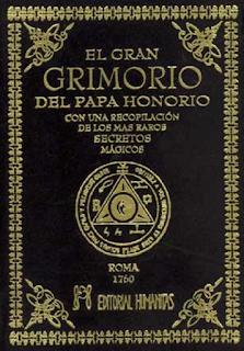 Libro en pdf conjuros diversos El Gran Grimorio Papa Honorio