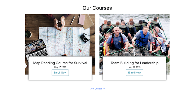 Courses Section