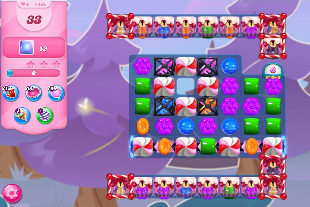 Candy Crush Saga level 7435