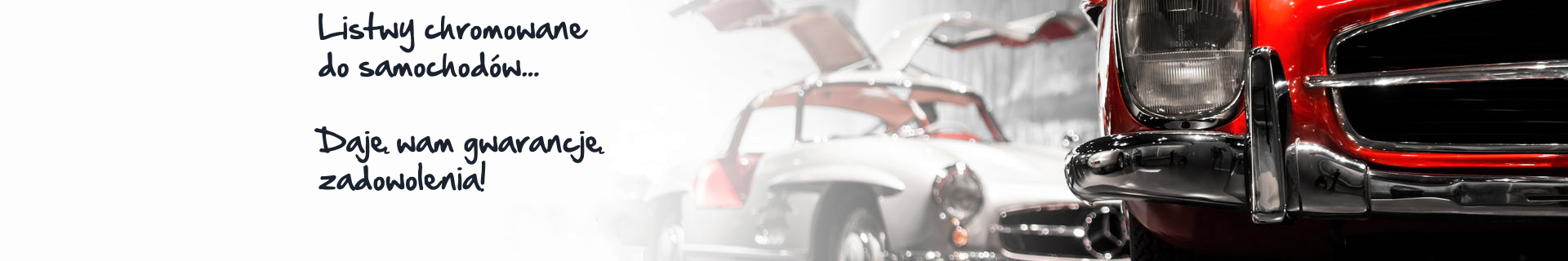 Wymiana listew samochodowych