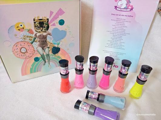 Nati Cosmetica - Coleção Multicolor
