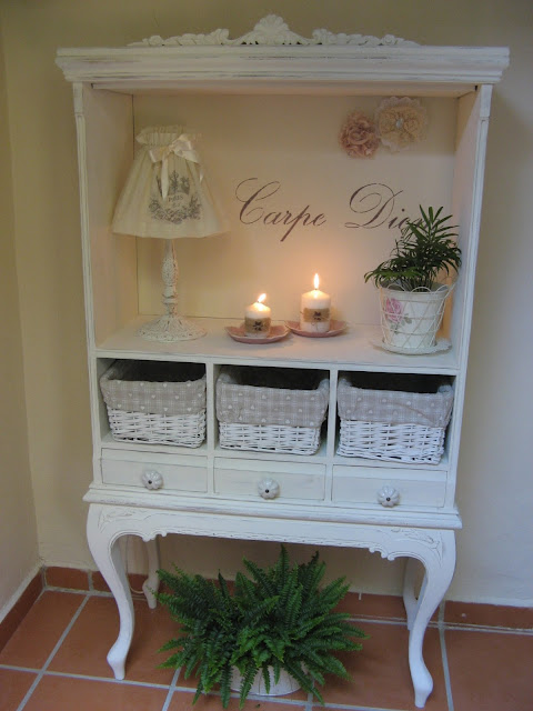 for Muebles pintados a la tiza