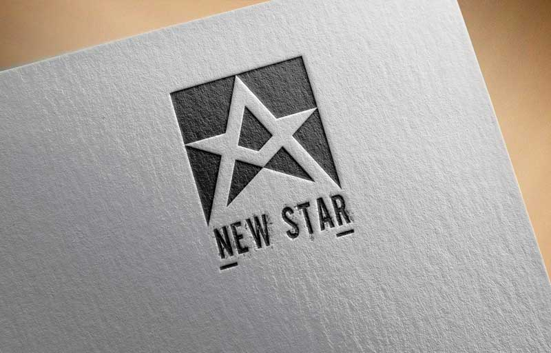 Download Free New White Star of David Logo for Business