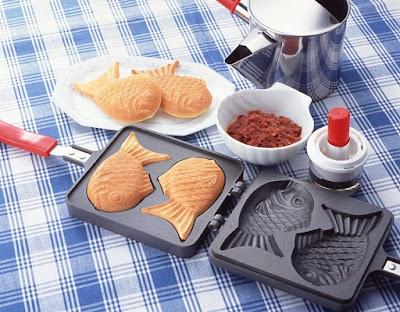 Japanese Fish Shaped Waffle Maker