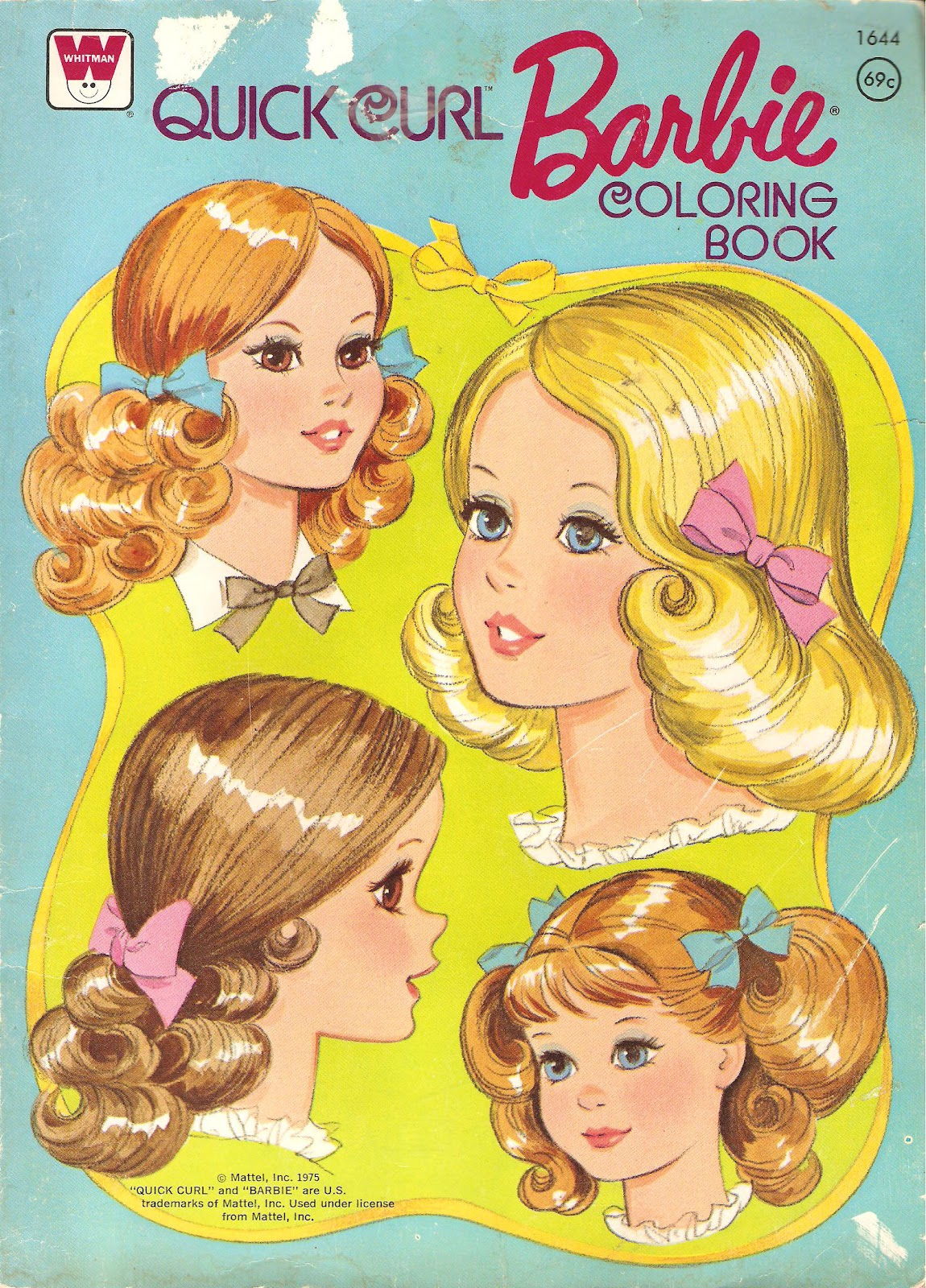 Miss Missy Paper Dolls Quick Curl