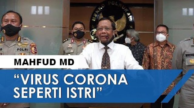 """Istri Corona """"Pak Mahfud"""", Pengalaman Pribadi?"""