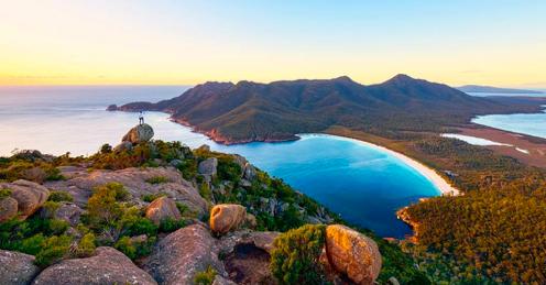 Eier und Speck Bay Tasmanien
