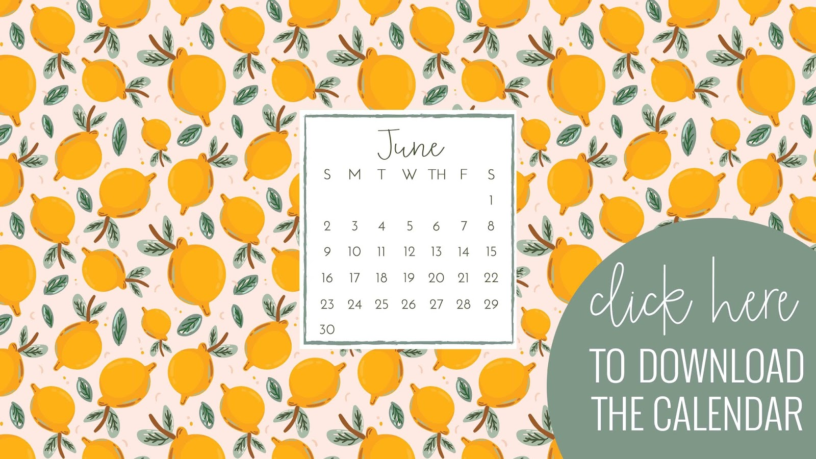 Don't miss the matching iPhone backgrounds.  You can grab the calendar background here and the plain background here.