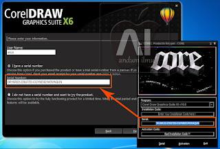 Keygen CorelDraw Graphics Suite X6