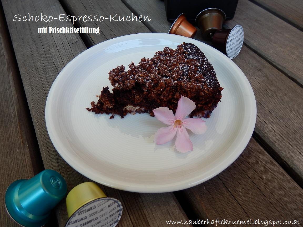 Zauberhafte Krumel Rezept Glutenfreier Schoko Espresso Kuchen