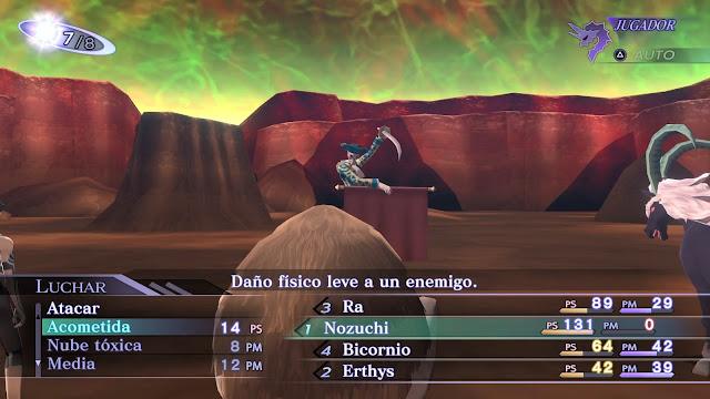 Matador Nozuchi Bicornio Análisis Shin Megami Tensei III Nocturne HD Remaster
