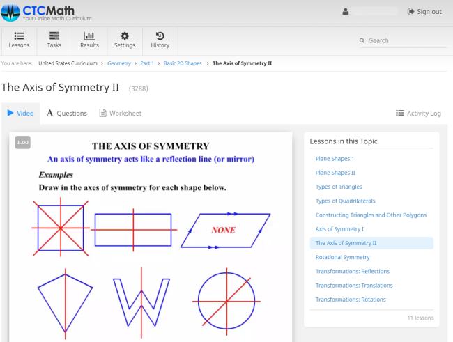 CTCMath: Self-Paced Geometry