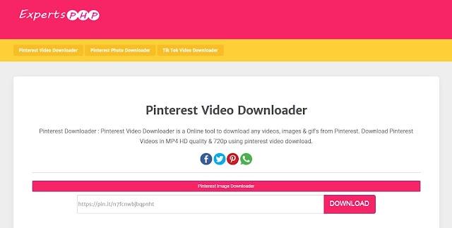 Cara Download Video Pinterest di Komputer Tanpa Menggunakan Aplikasi