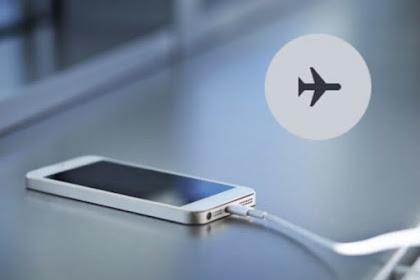 Fungsi Lain Mode Pesawat (Airplane Mode) : Tidak Hanya Keamanan Penerbangan Saja