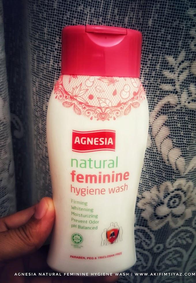Miss V Kekal Segar Dengan Agnesia Natural Feminine Hygiene Wash