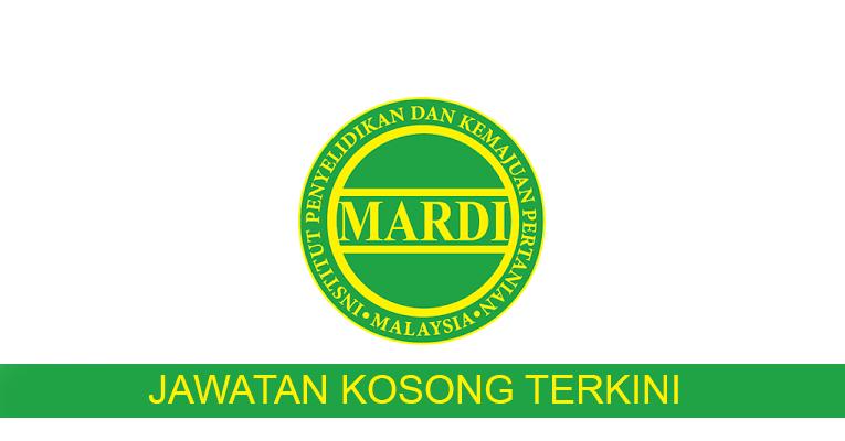 Kekosongan Terkini di Institut Penyelidikan Dan Kemajuan Pertanian Malaysia (MARDI)