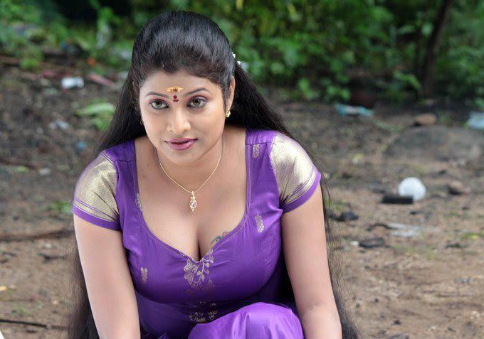 Telugu Aunty Long Hair