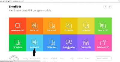Cara Mengubah Word ke PDF dengan Alat Online yang Mudah dan Gratis