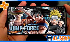 تحميل لعبة Jump Force psp بحجم صغير للاندرويد لمحاكي ppsspp